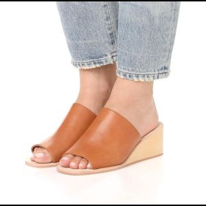 Jeffrey Campbell Tan Willow Wedges